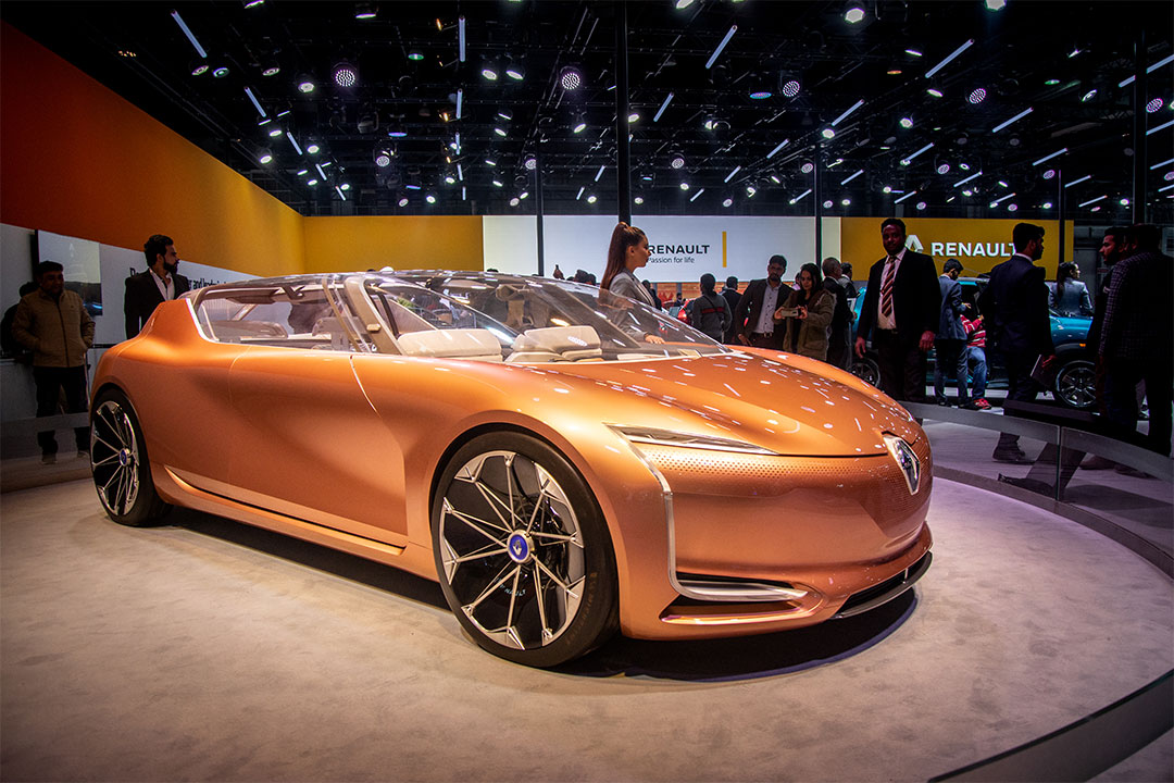 The Renault Symbioz concept showcases the future of autonomous mobility and Renault's technology