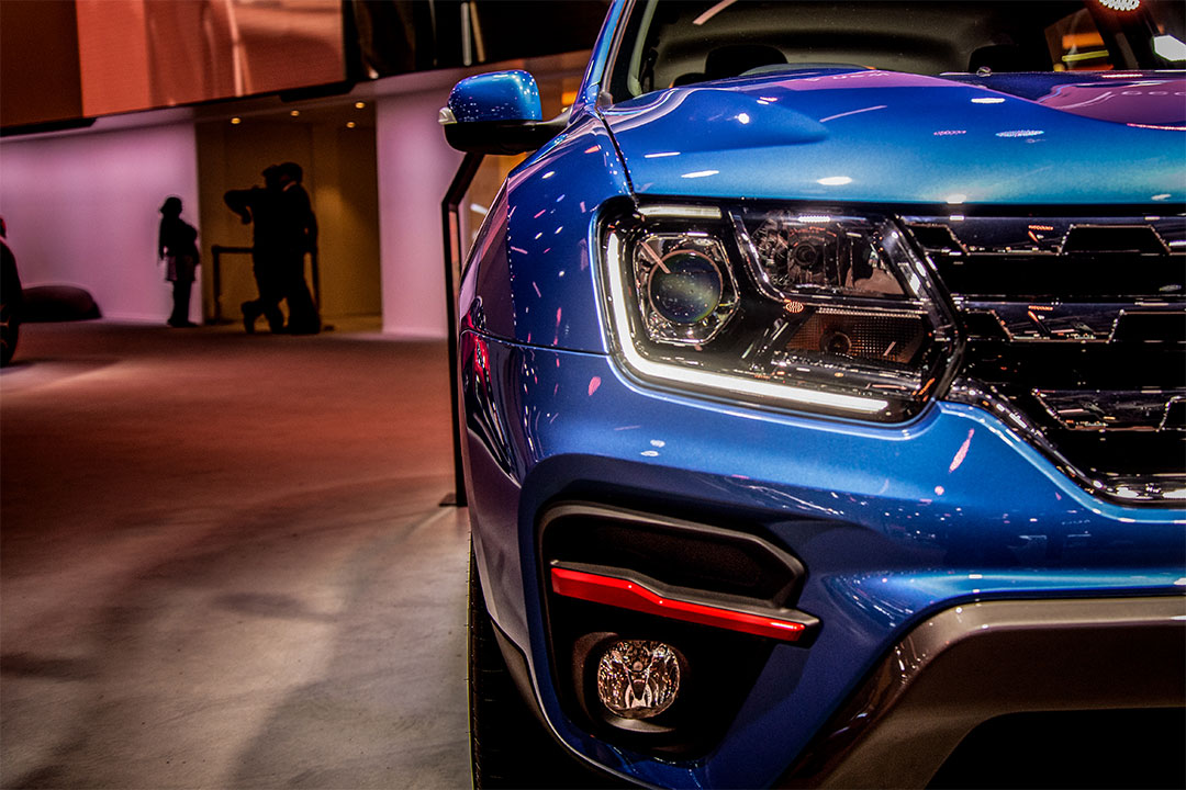 The new Renault Duster with a turbo petrol engine gets red accents
