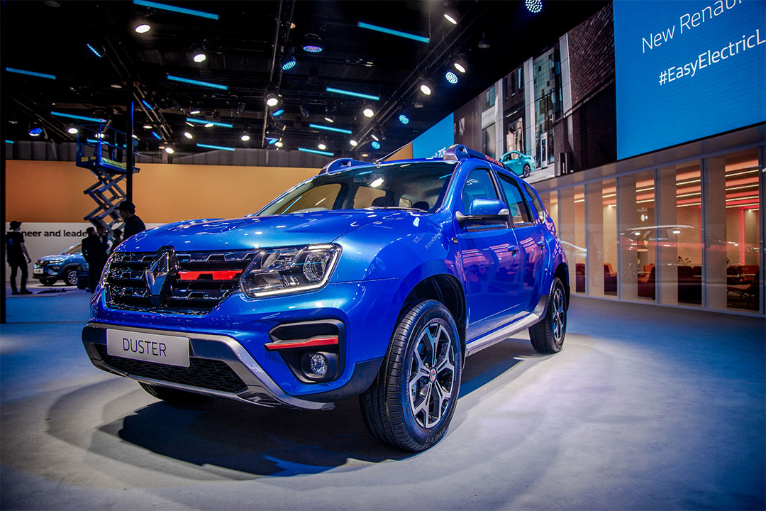 The new Duster showcased with a powerful 160 PS petrol engine