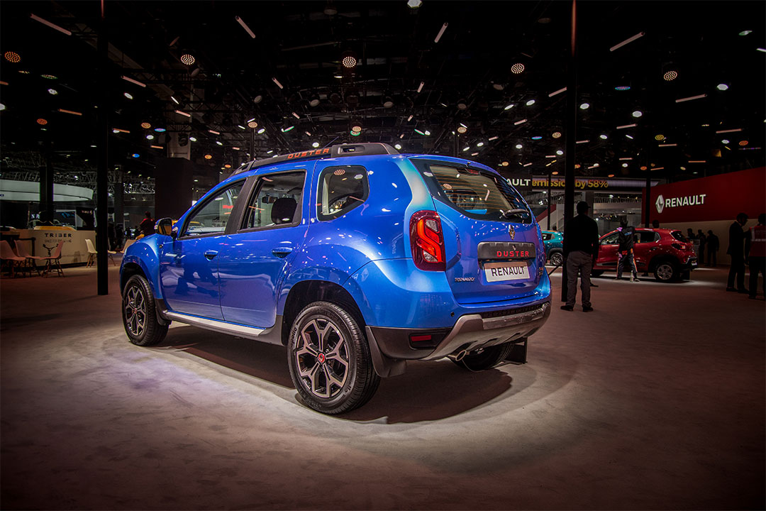 The Duster retains its design language from the current generation model
