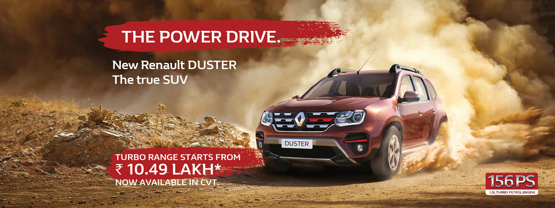 NEW RENAULT DUSTER PETROL